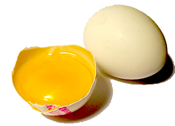 æggeblomme i håret