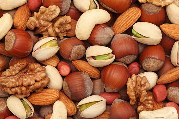 nyheder fodevarer frugt nodder beskytter mod inflammation.