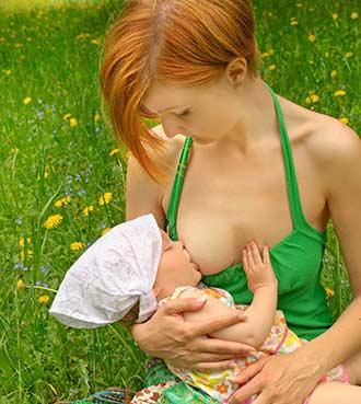 mælk i brysterne